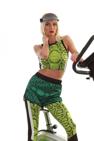 Sport tank top active green