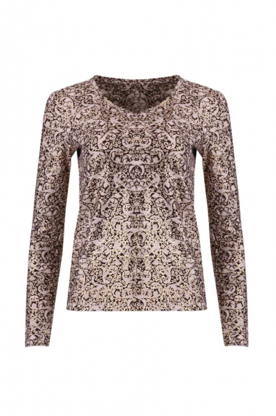 Ornament print blouse