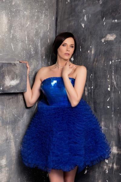 Women's dress Junona Blue
