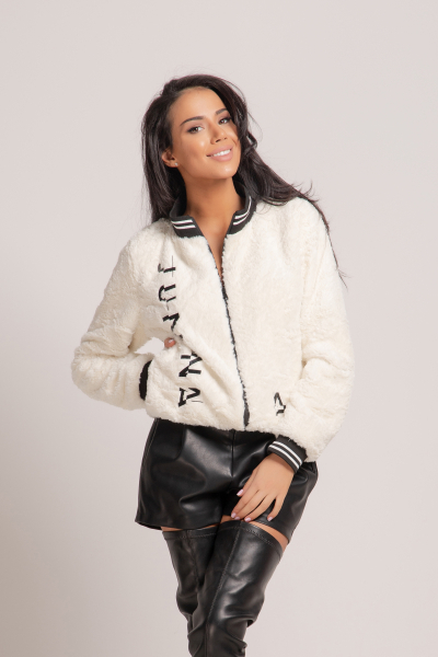 Women's plush jacket