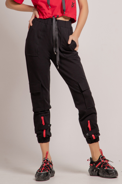 Sports Pants with Pockets
