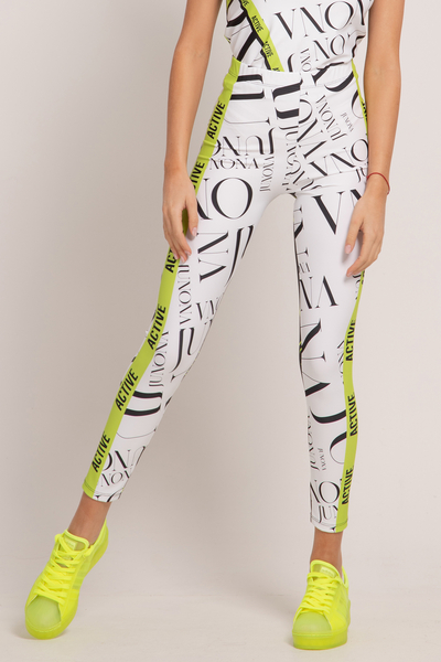 Sports leggings Active White