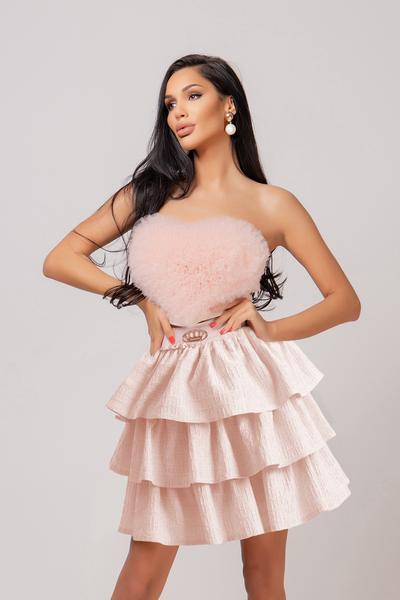 Bustier top Pink Love