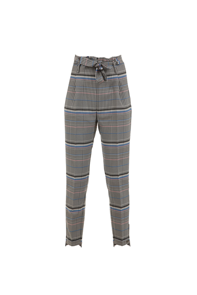 Ladies plaid trousers