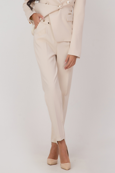 Ladies plaid trousers