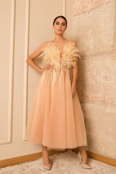 Elegant Ecru Dress