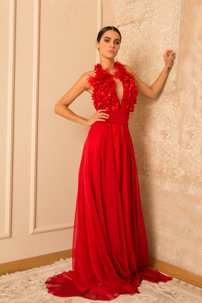 Women's Dress  Junona Red Dreams