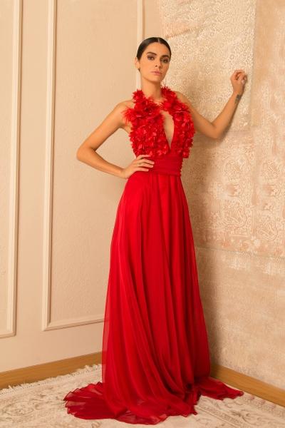 Women's Dress  Junona Red Dreams
