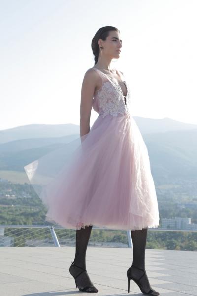Women's dress Pink Sapphire