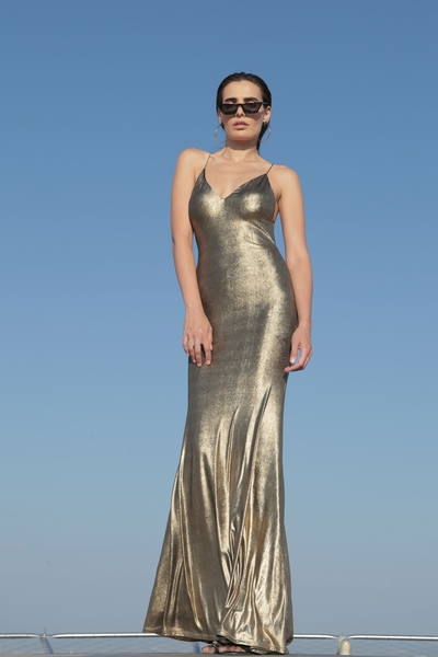 Women's dress Junona Gold