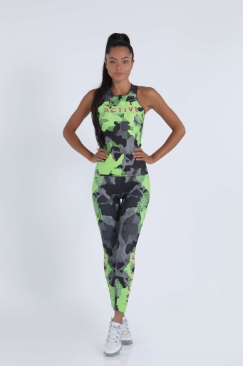 Sports tank top Active Neon