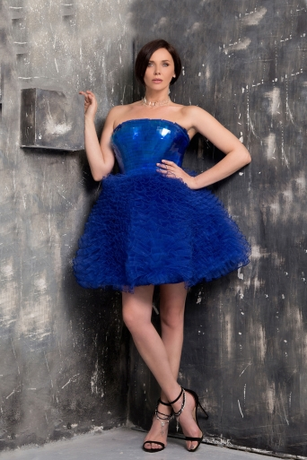 Women's dress Junona Blue